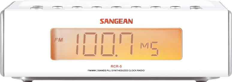 Sangean Klockradio Snabbval 10