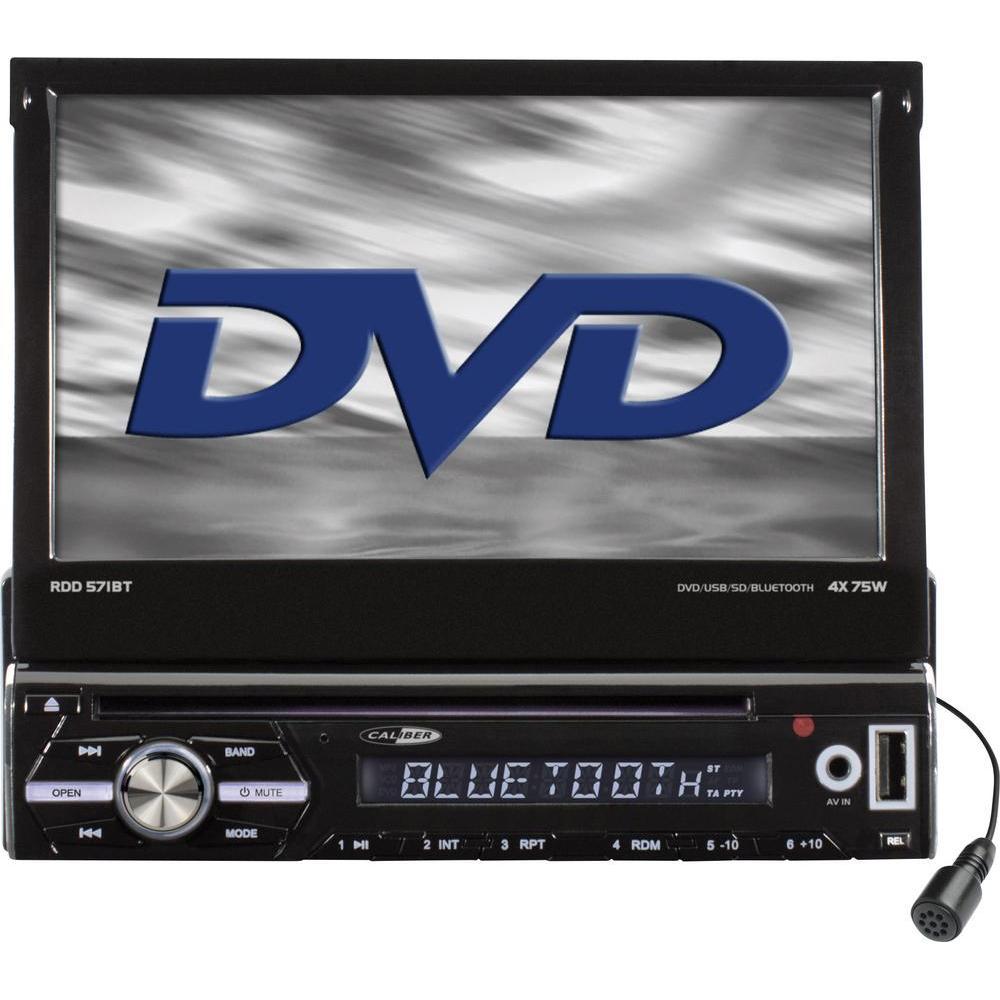 Caliber DVD spelare för bil