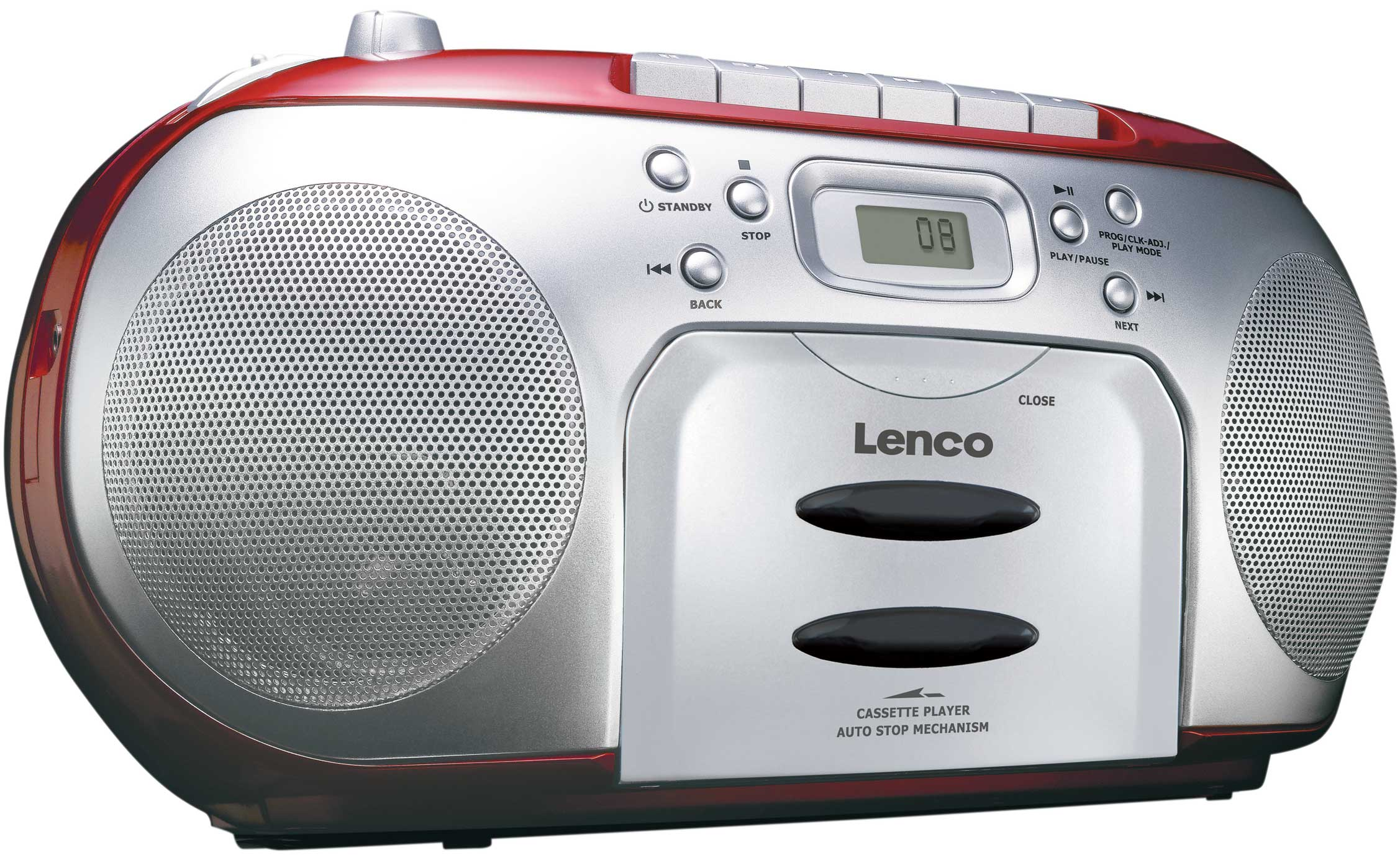 Lenco Boombox CD/KASSETT/RADIO