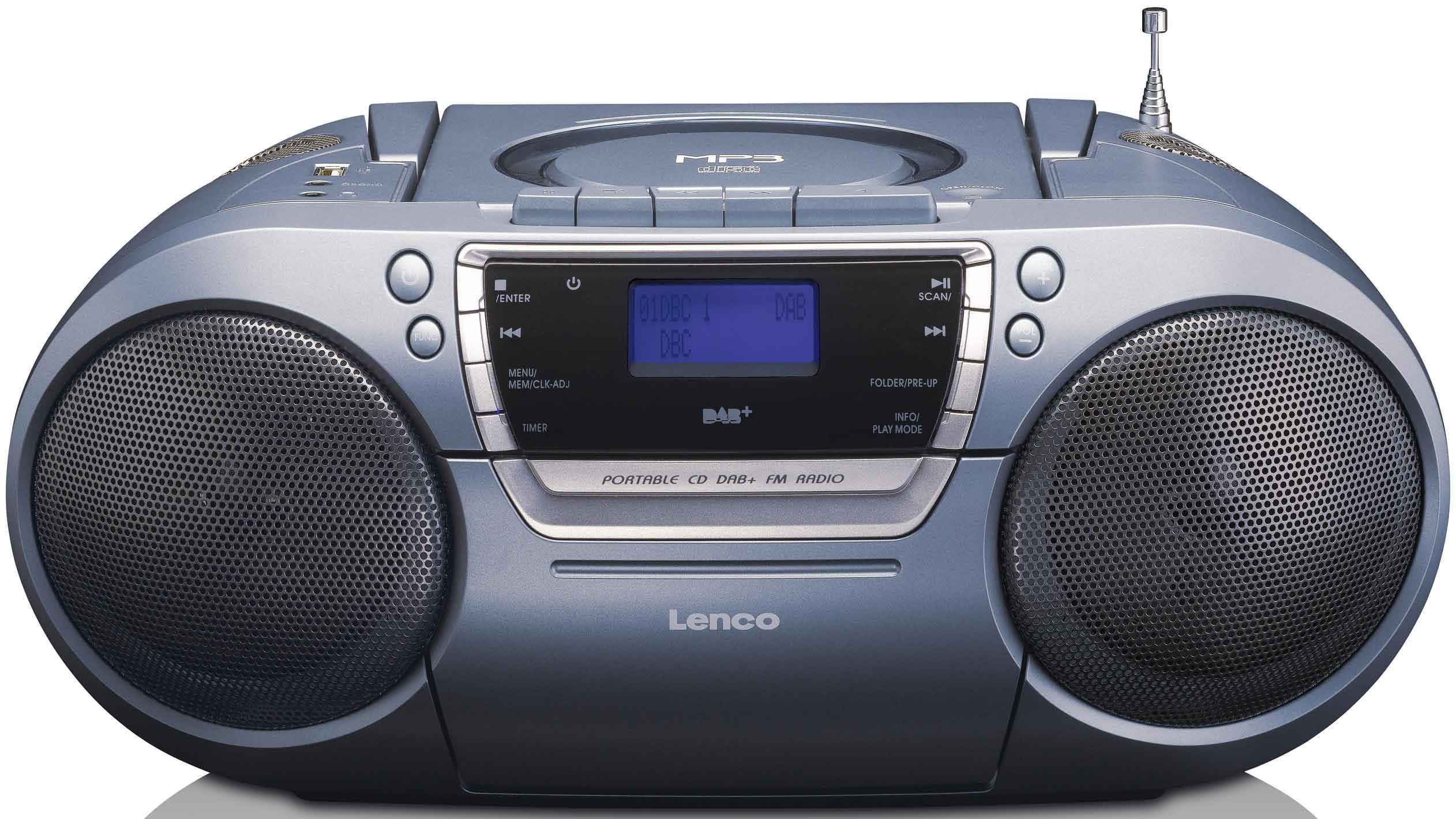 Lenco Boombox 4 högtalare USB