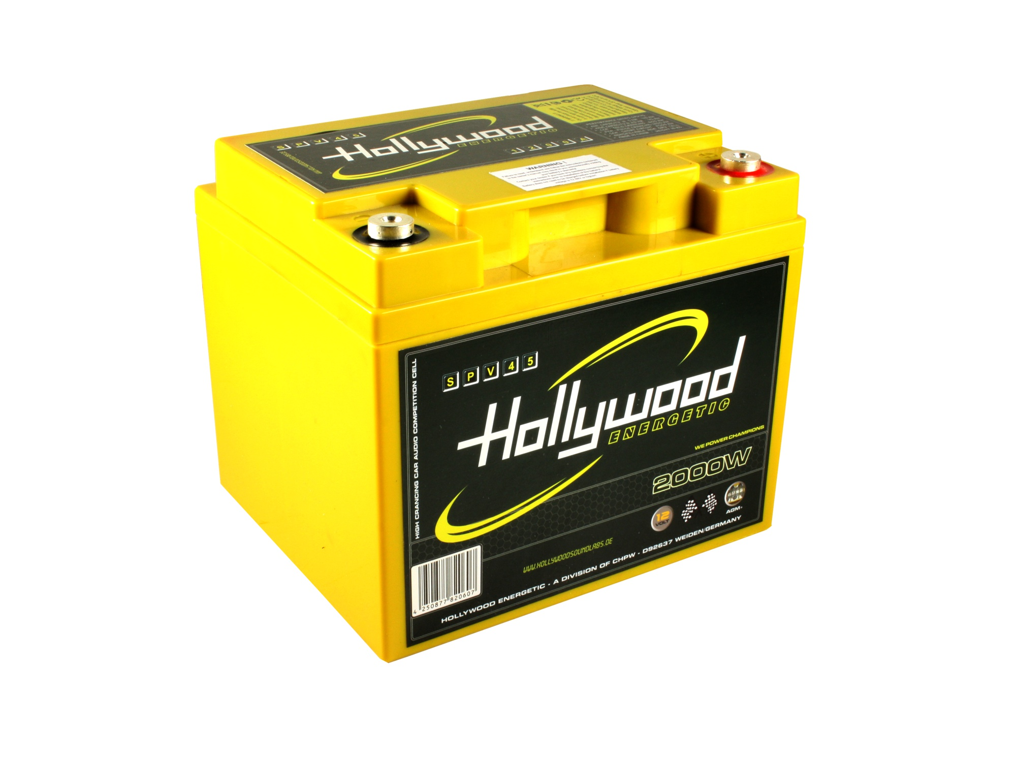 Hollywood 45ah AGM
