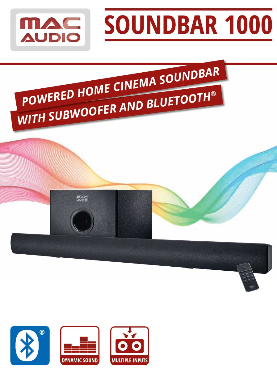 Mac Audio Soundbar bluetooth