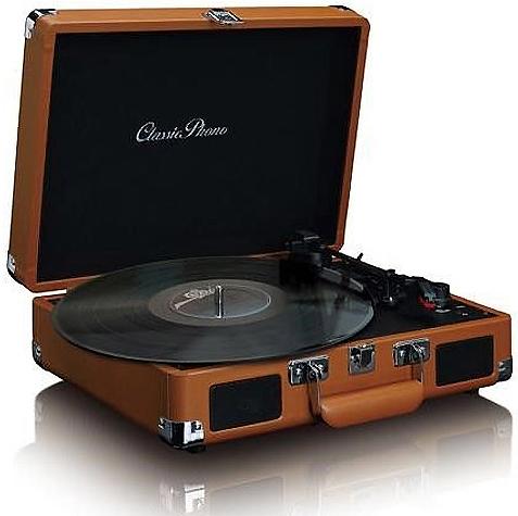 Lenco Retro vinylspelare porta