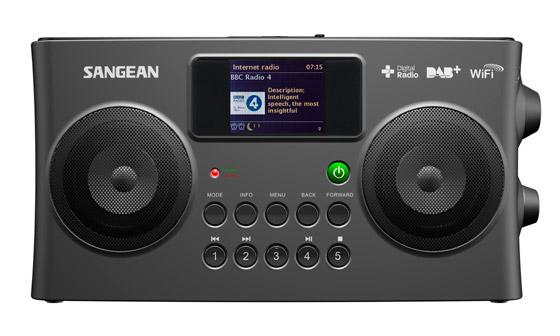Sangean WiFi /FM /DAB Spotify