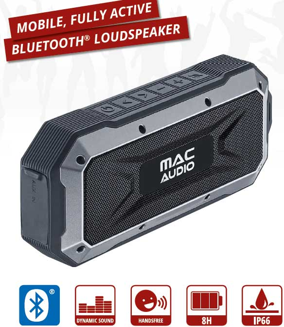 Mac Audio Bluetooth högtalare