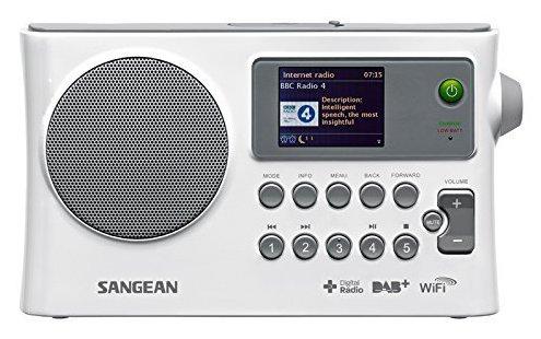 Sangean portabel WiFi /FM/DAB+